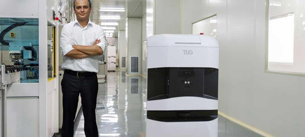 TUG Autonomous Mobile Robot in Manufacturing