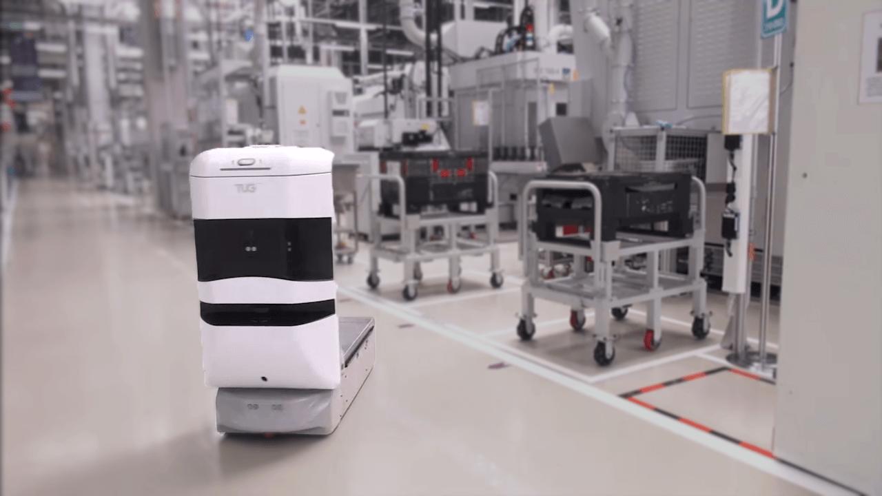 TUG Robot in Manufacturing